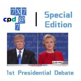 【Debate 7*7@7】Day 3-3rd 15min #1st Presidentail Debate 2016
