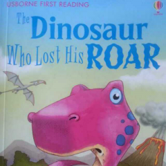 ben and po read 'The Dinosaur Who Lost His Roar'